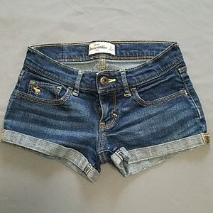 Abercrombie Kids blue shorts